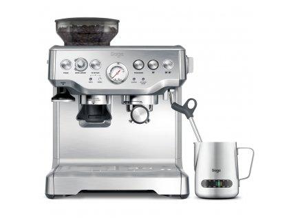 Sage THE BARISTA EXPRESS BES875BSS  + poukaz 200 Kč na nákup kávy + degustační balení kávy La Borsa