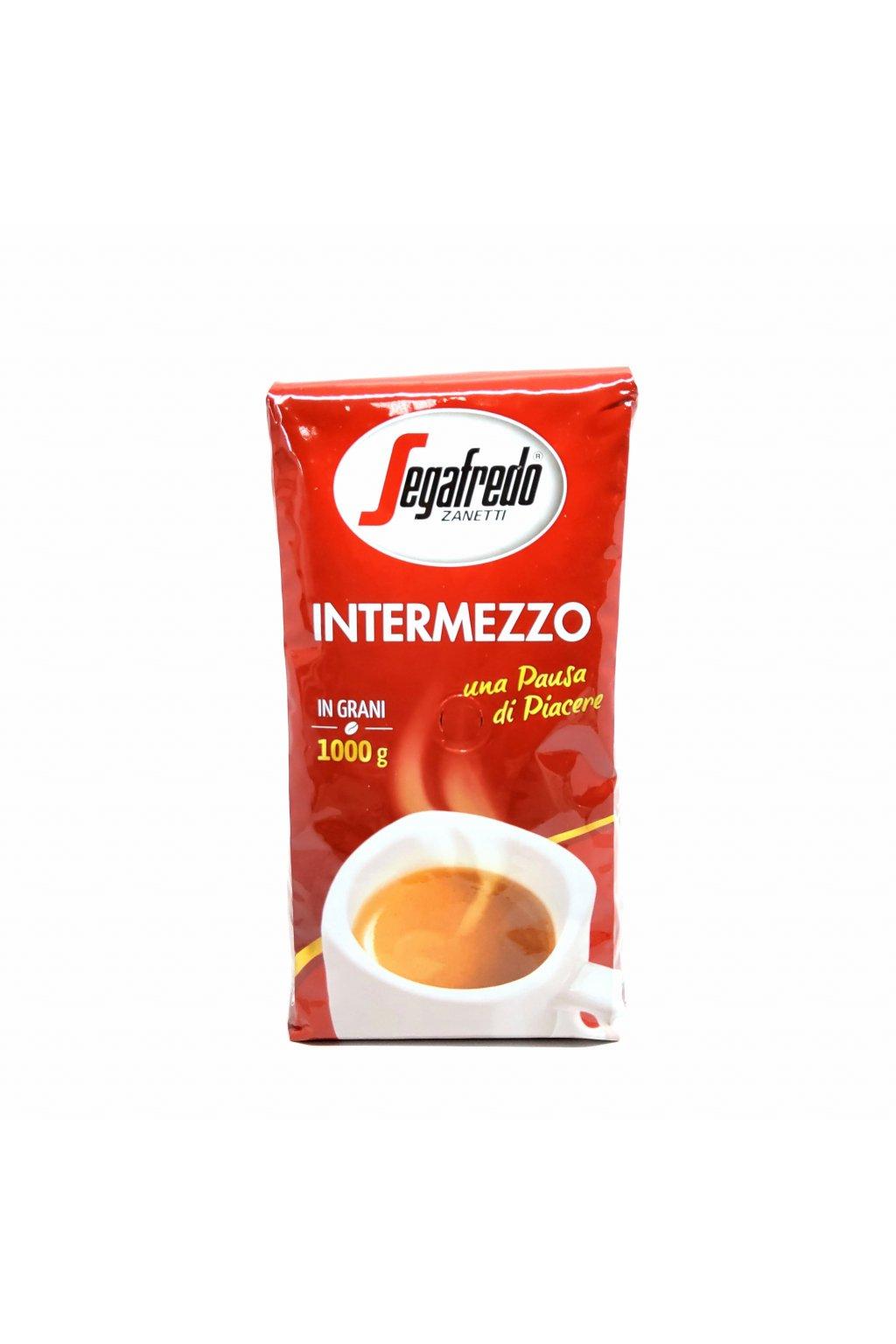 101 segafredo intermezzo zrnkova kava 1 kg