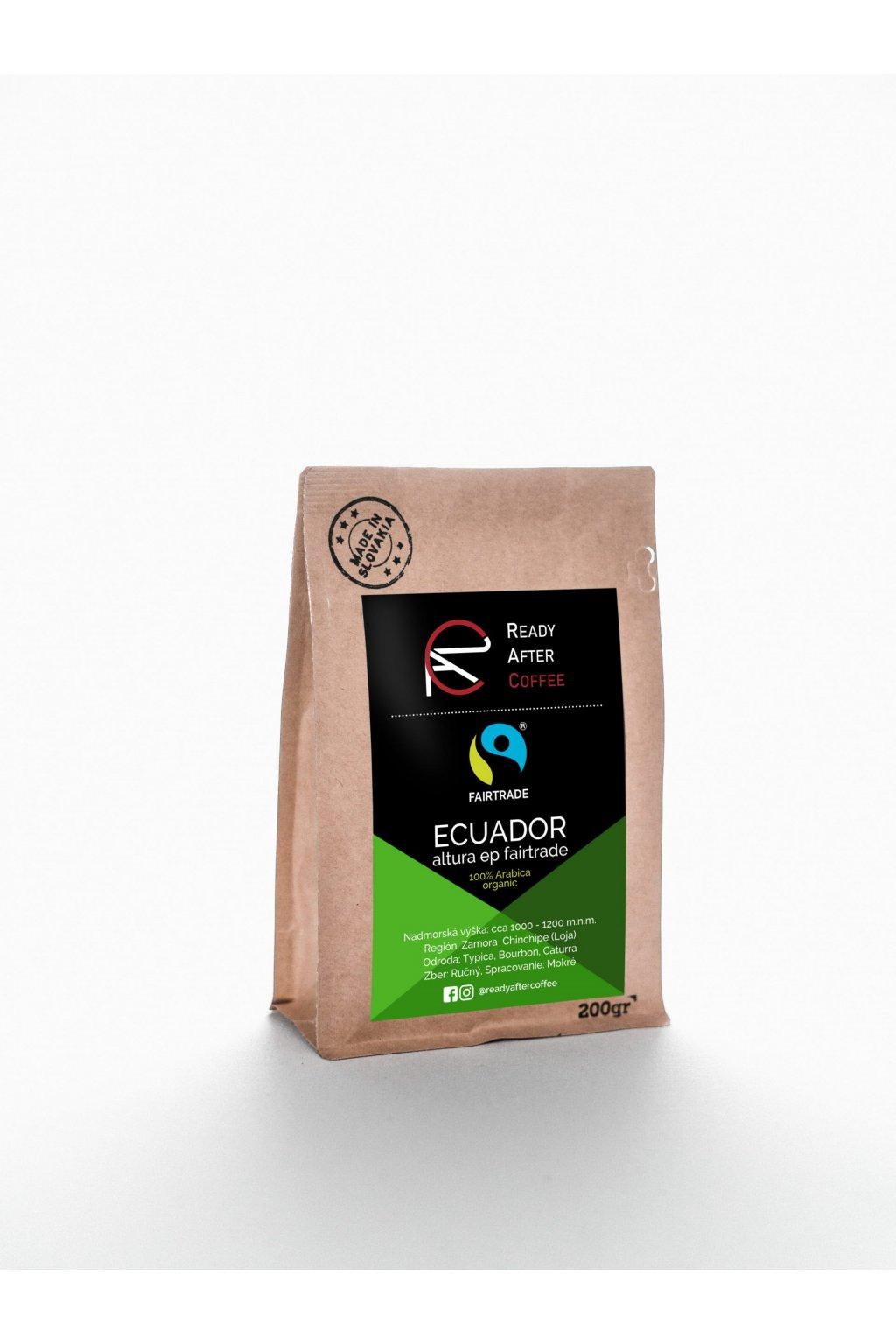 Ecuador Altura Fairtrade – organická káva