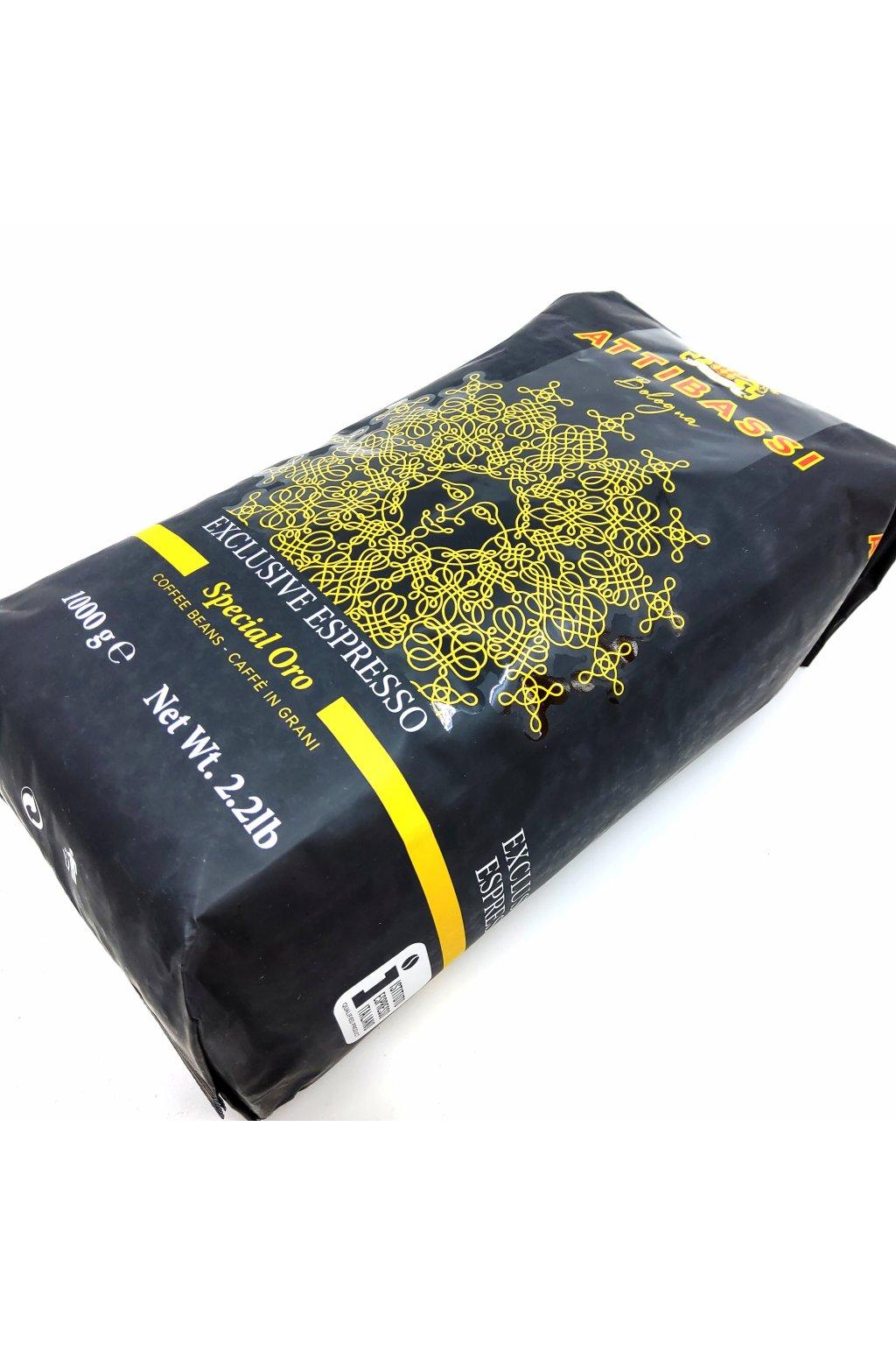 1346 attibassi crema d oro zrnkova kava 1 kg