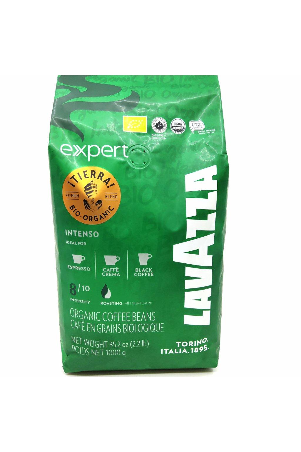 Lavazza Tierra Bio Organic zrnková 1 kg