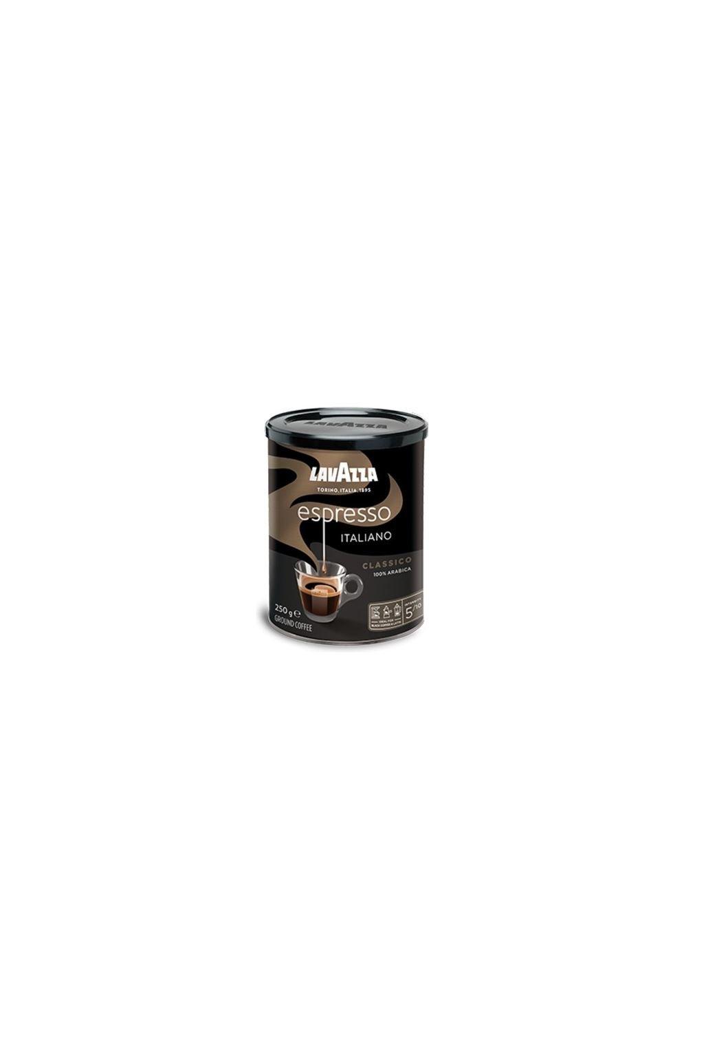 Lavazza Espresso Italiano Classico dóza mletá káva 250 g