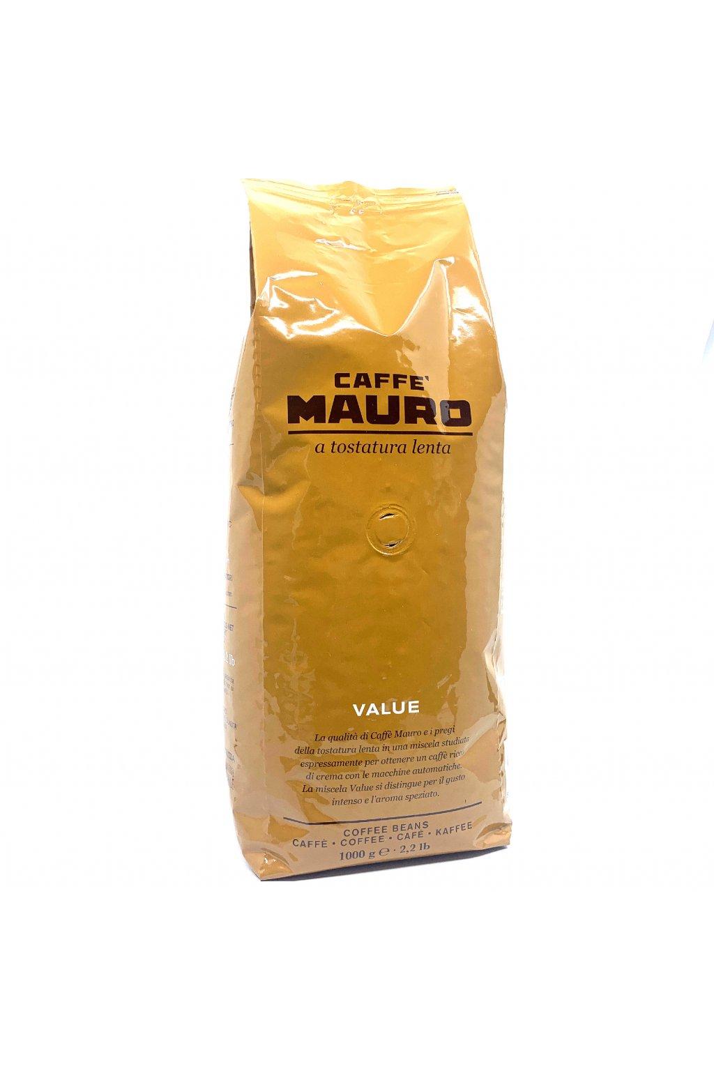 Mauro Vending VALUE zrnková káva 1 kg
