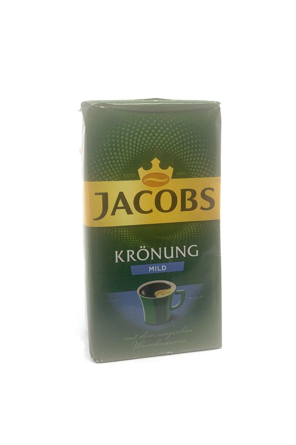 Jacobs Krönung Mild mletá káva, 500g