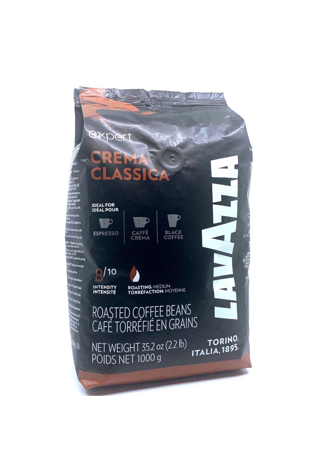 Lavazza Expert Crema Classica zrnková káva 1 kg