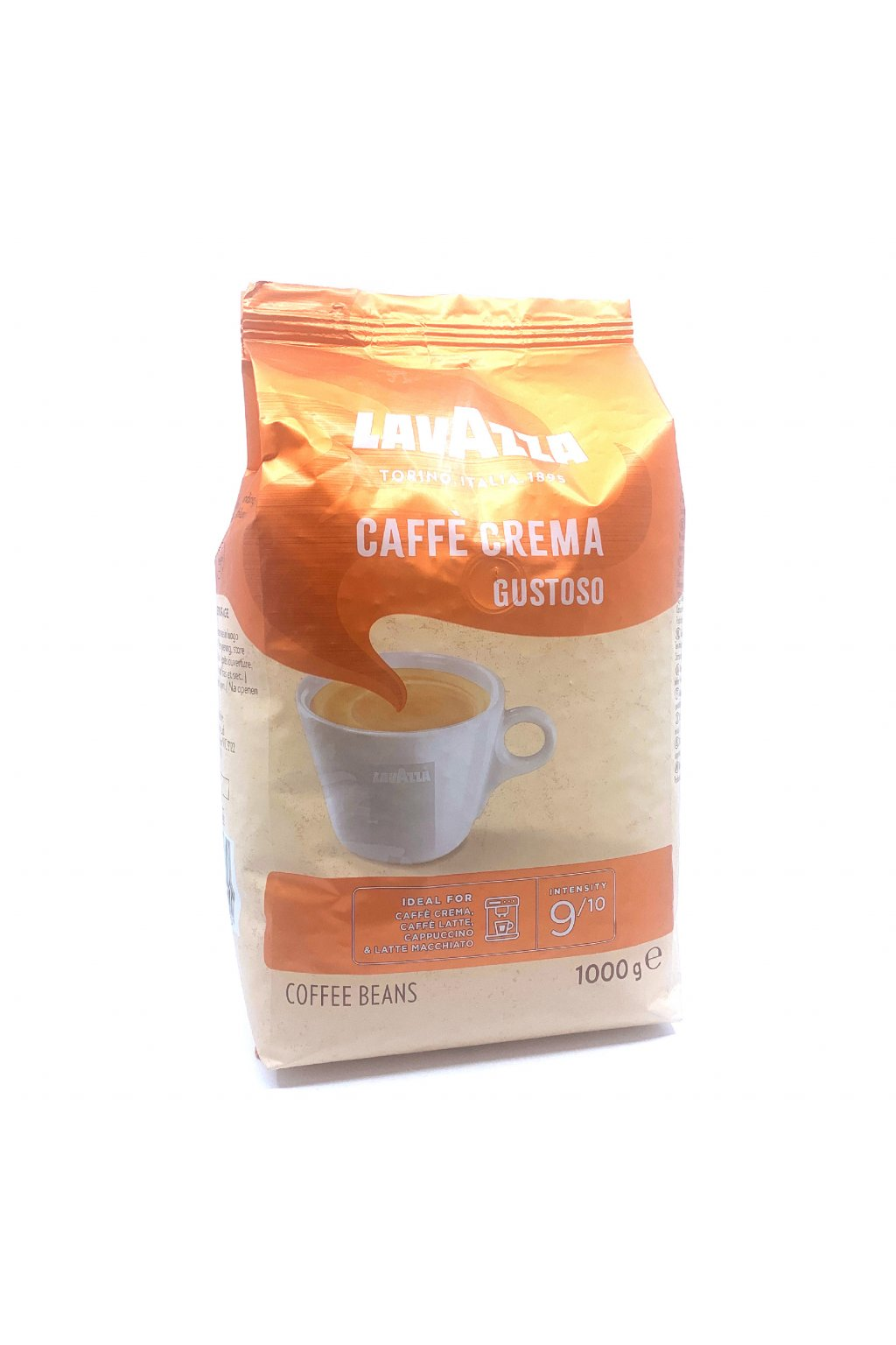 Lavazza Caffe Crema Gustoso zrnková káva 1 kg