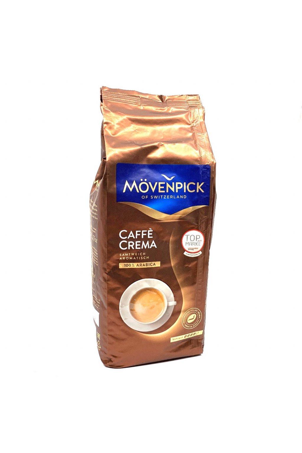 MÖVENPICK Caffé Crema zrnková káva 1 kg