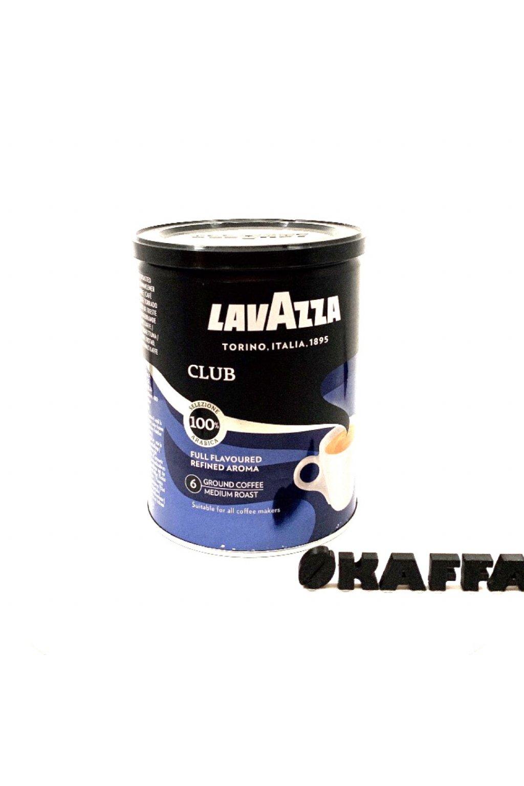 Lavazza Club dóza mletá káva 250 g