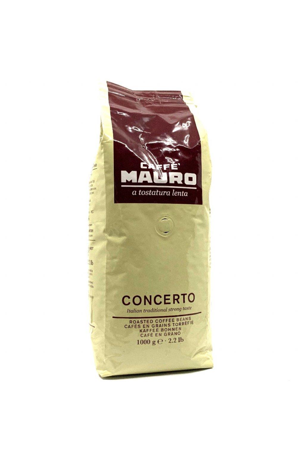 Mauro caffé Concerto zrnková káva 1 kg