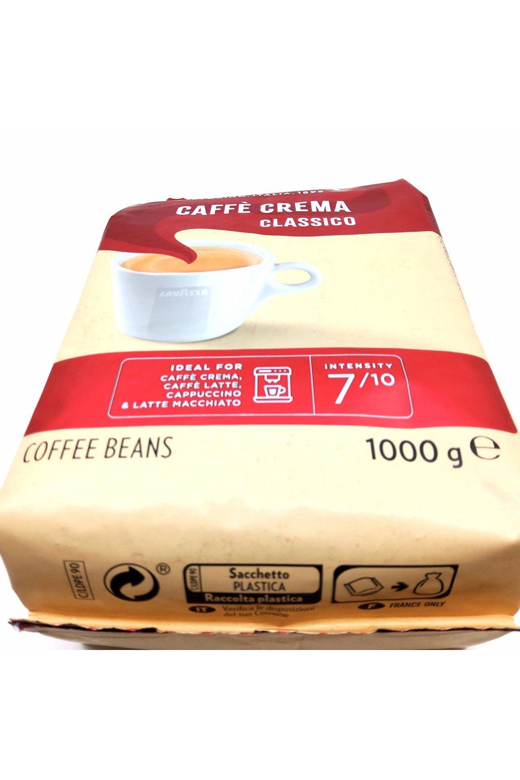 480 lavazza caffe crema classico zrnkova kava 1 kg