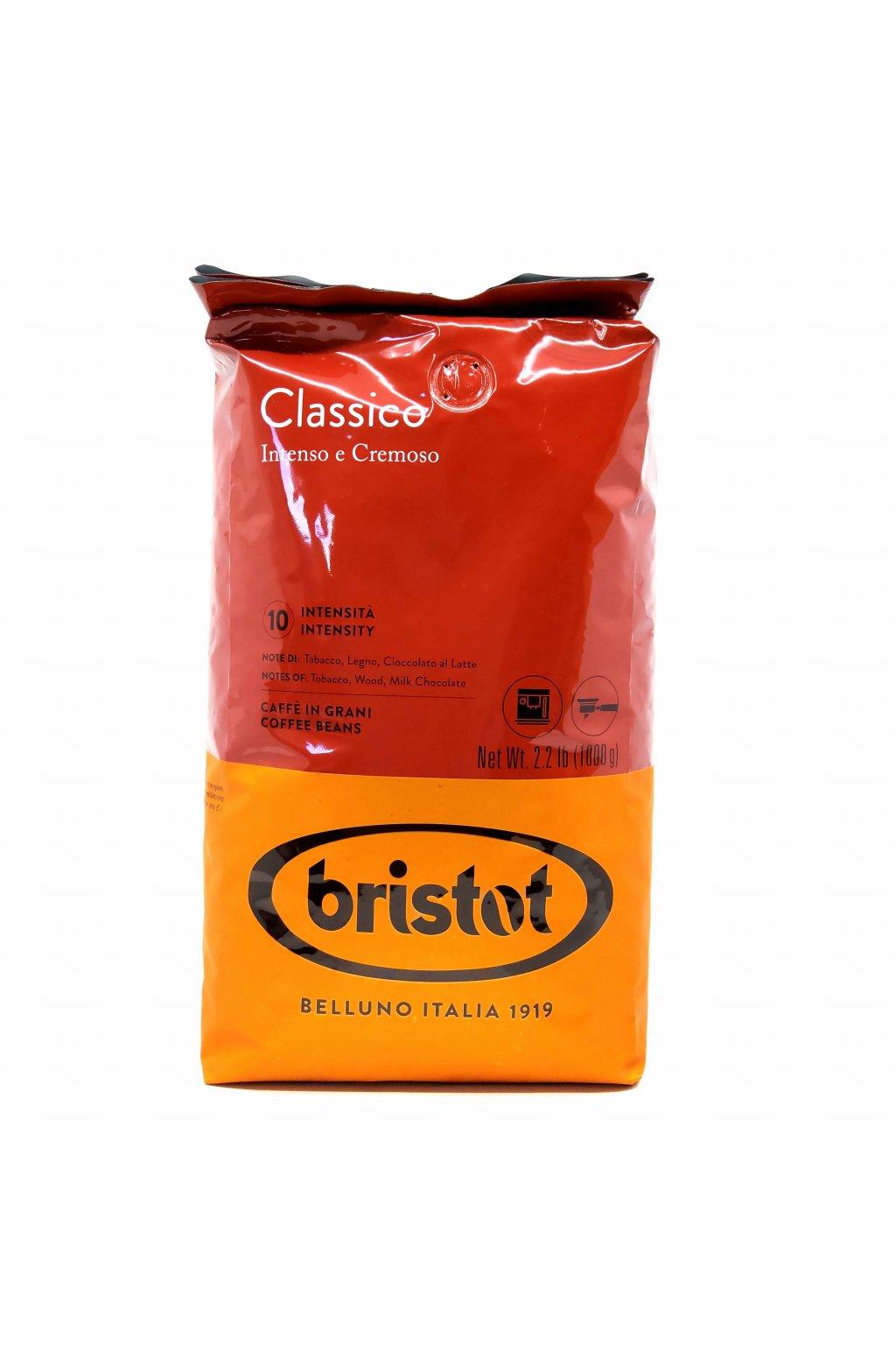 573 bristot classico zrnkova kava 1 kg