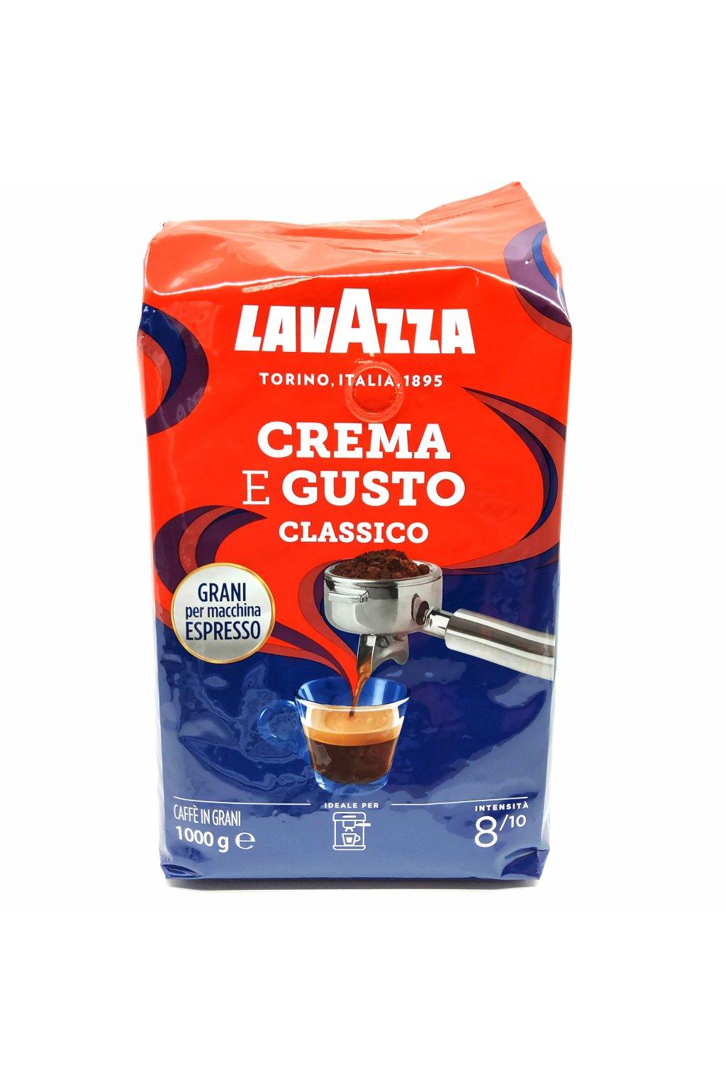 588 lavazza espresso crema e gusto zrnkova kava 1 kg