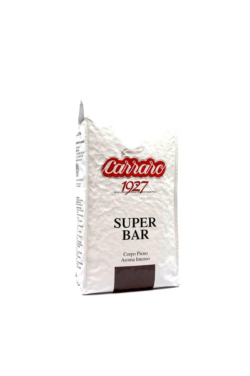 Carraro Super Bar zrnková káva 1 kg
