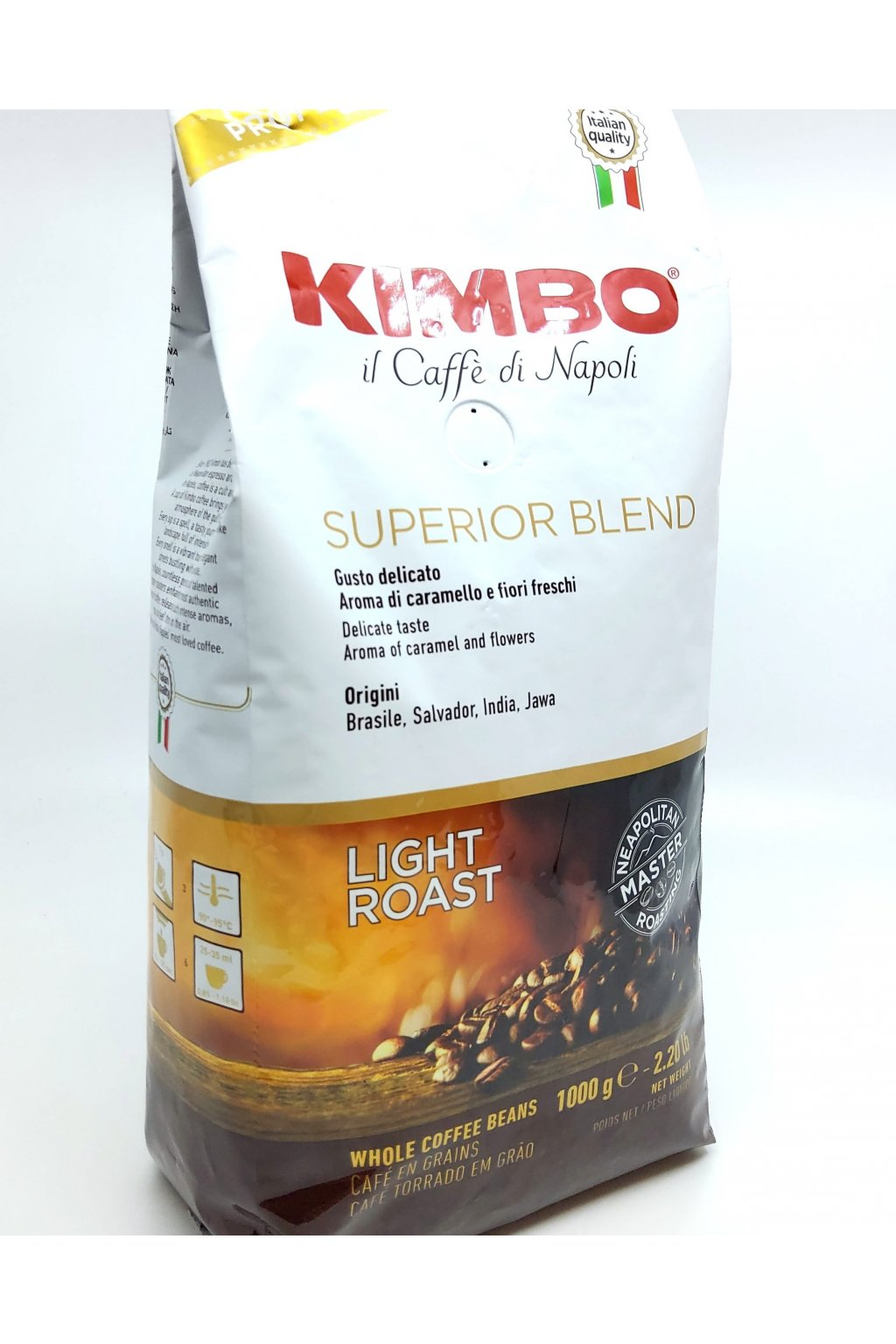 Kimbo Espresso Bar Superior Blend zrnková káva 1 kg