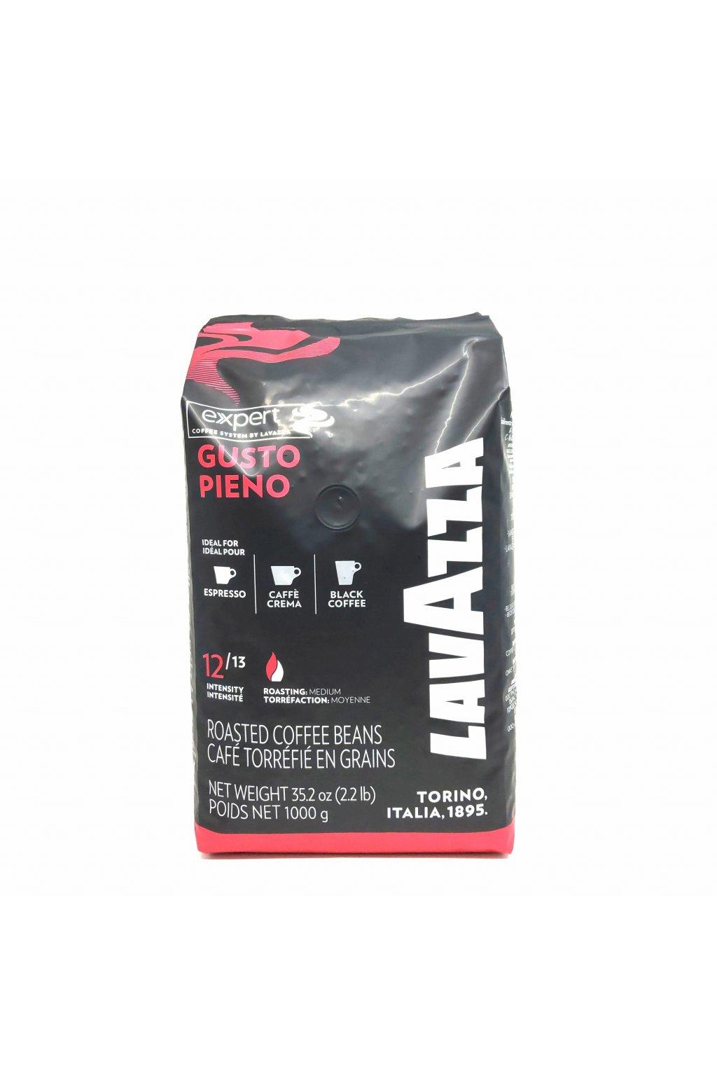 74 lavazza expert gusto pieno zrnkova kava 1 kg