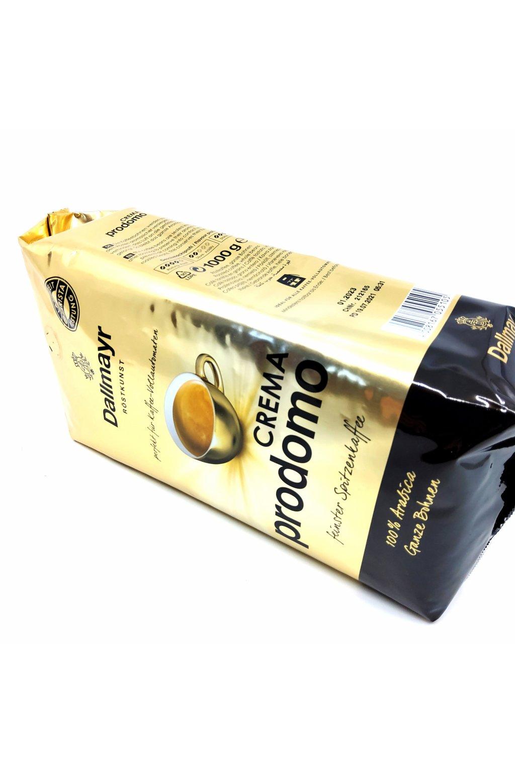 837 dallmayr crema prodomo zrnkova kava 1 kg