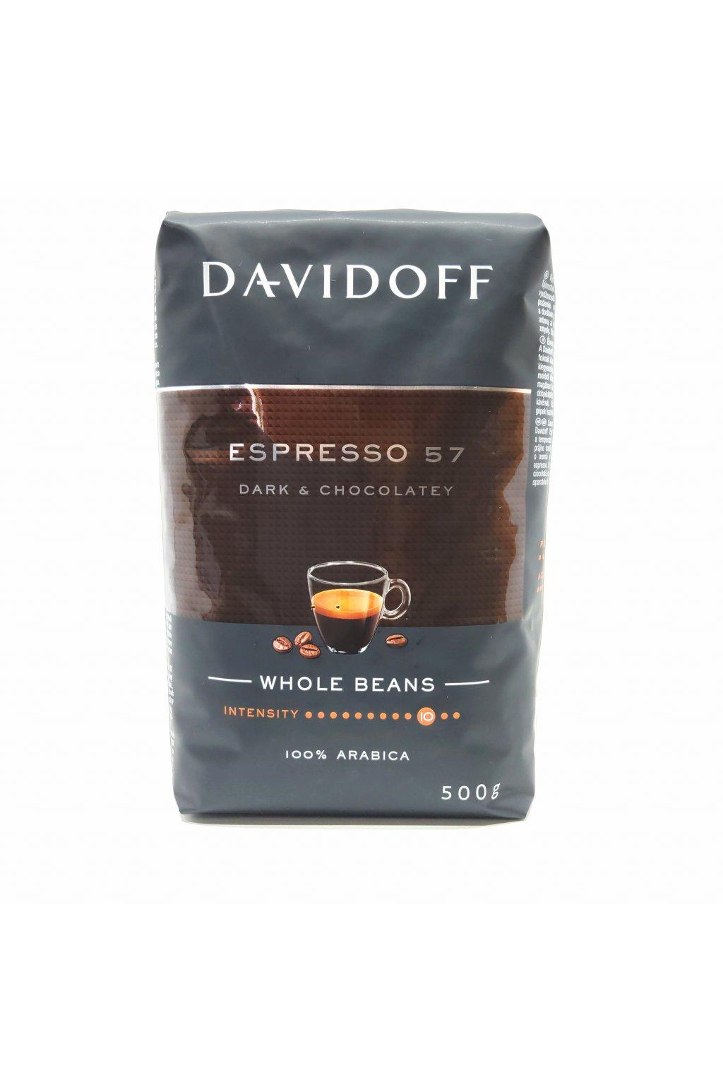 888 davidoff espresso 57 intense zrnkova kava 500 g