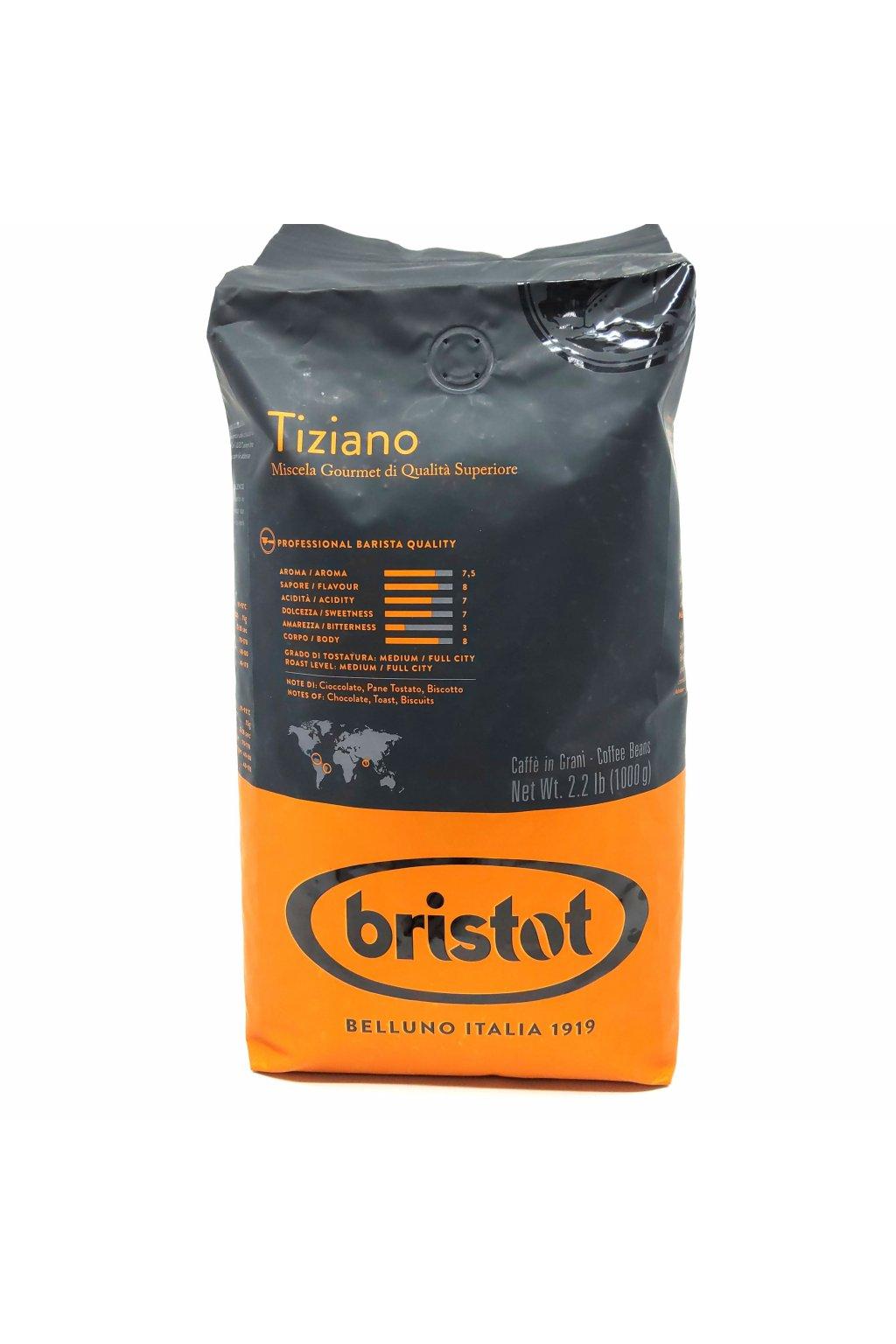 891 bristot tiziano zrnkova kava 1 kg