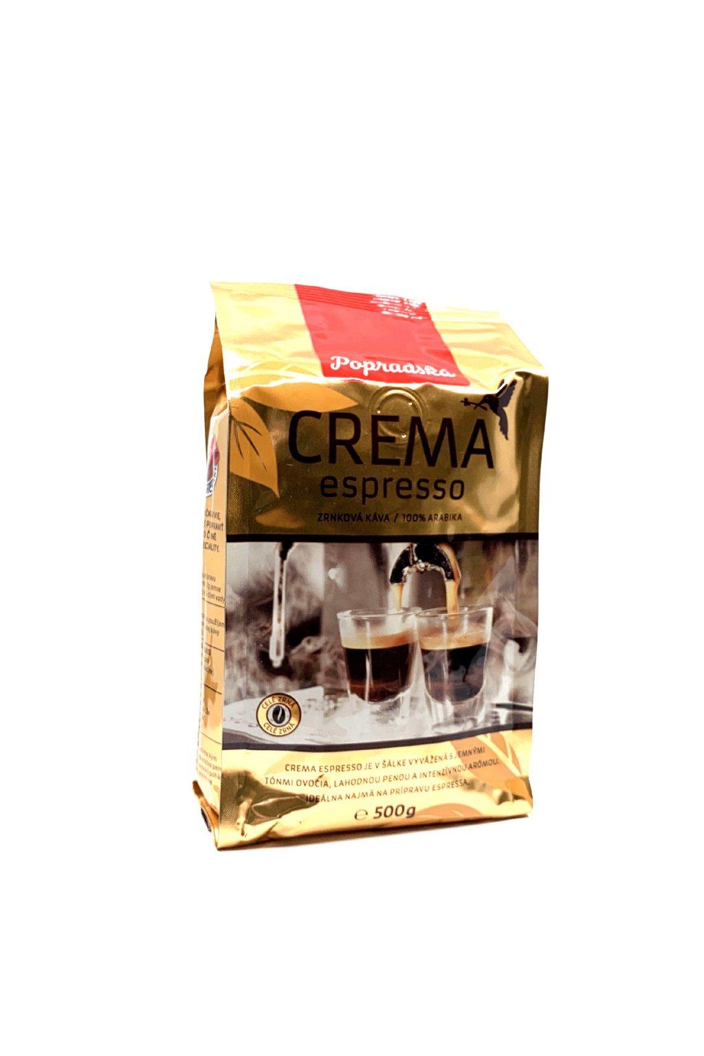 Popradská Crema espresso 500 g