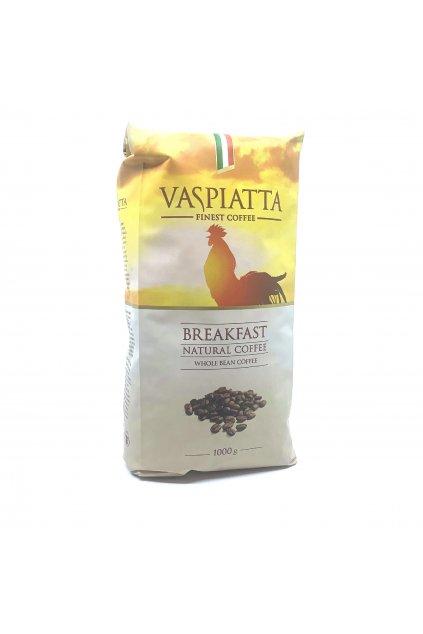 Vaspiatta Breakfast zrnková káva 1kg
