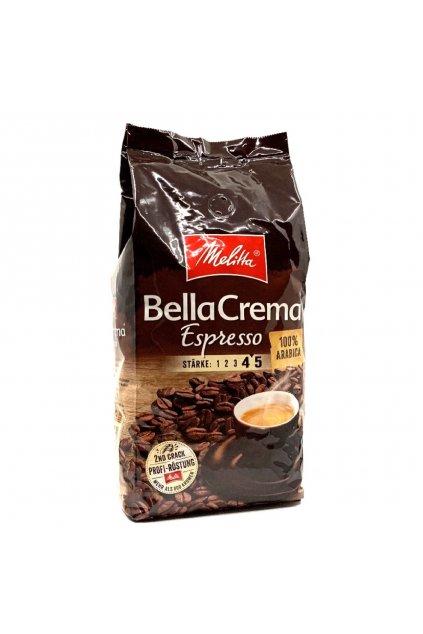 Melitta BellaCrema Espresso zrnková káva 1 kg