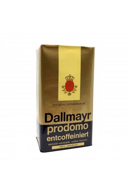 Dallmayr prodomo entcoffeiniert (bez kofeinu), mletá, 500 g