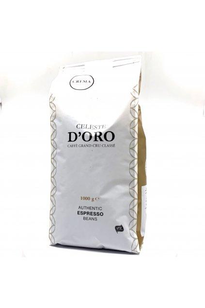 Celeste d'Oro Crema zrnková Káva 1 kg