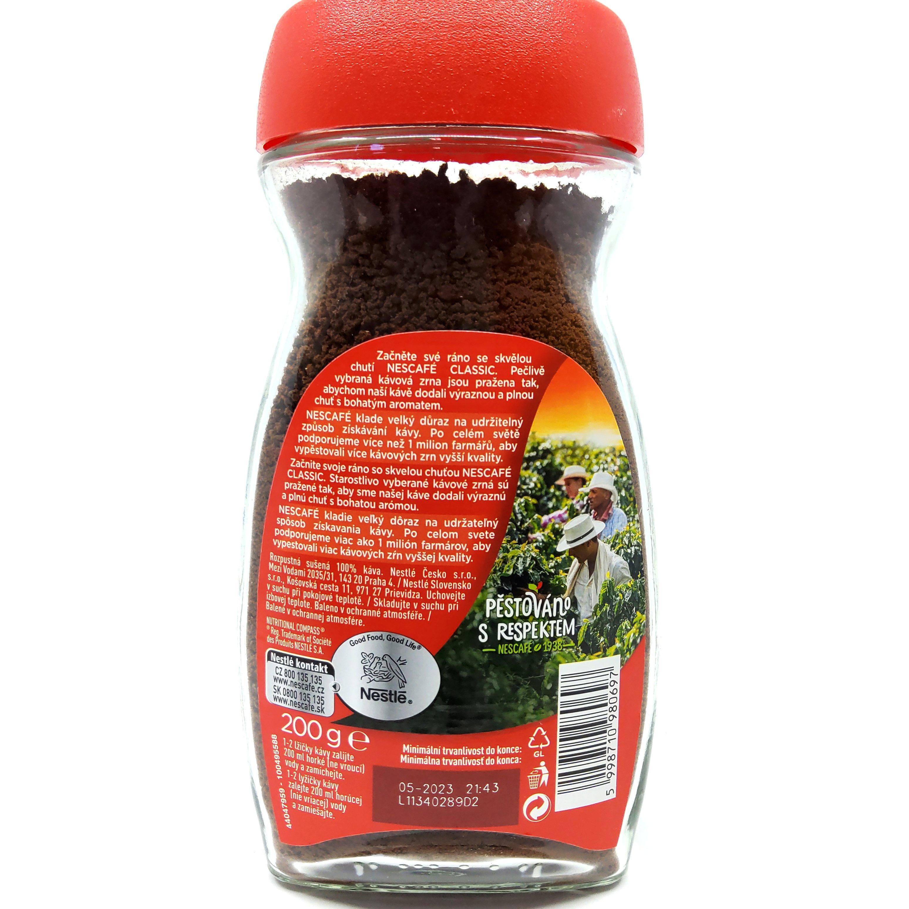 Nescafé Classic káva 200 g