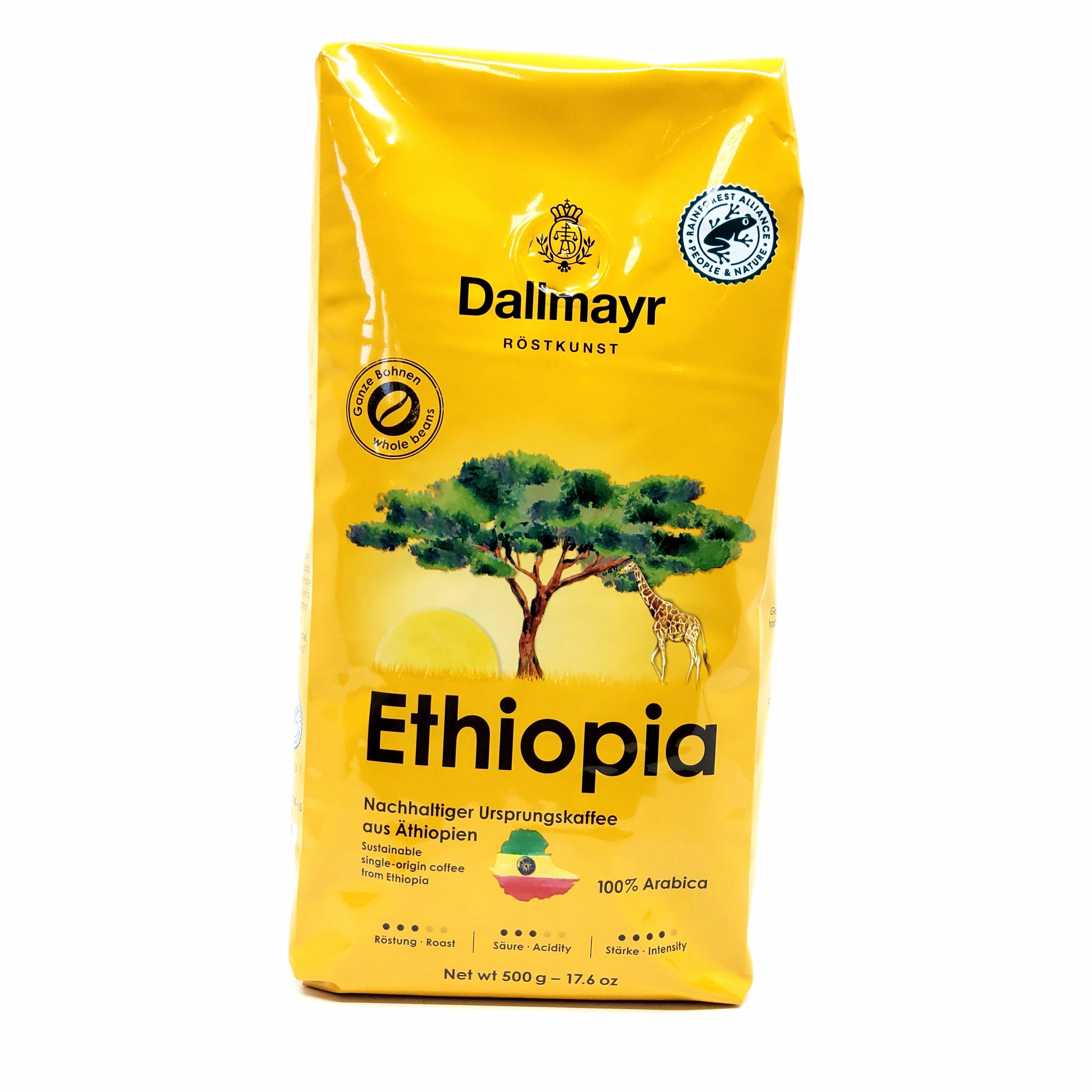 Dallmayr Ethiopia zrnková káva 100 % Arabica 500 g