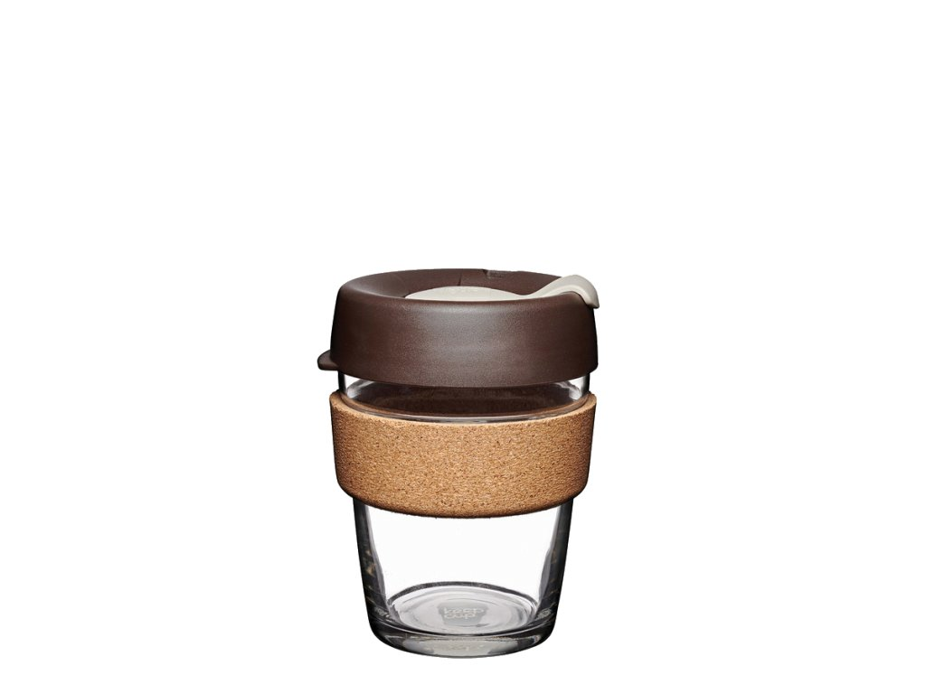 KeepCup Brew Cork Almond (Objem kelímku 227 ml - S)