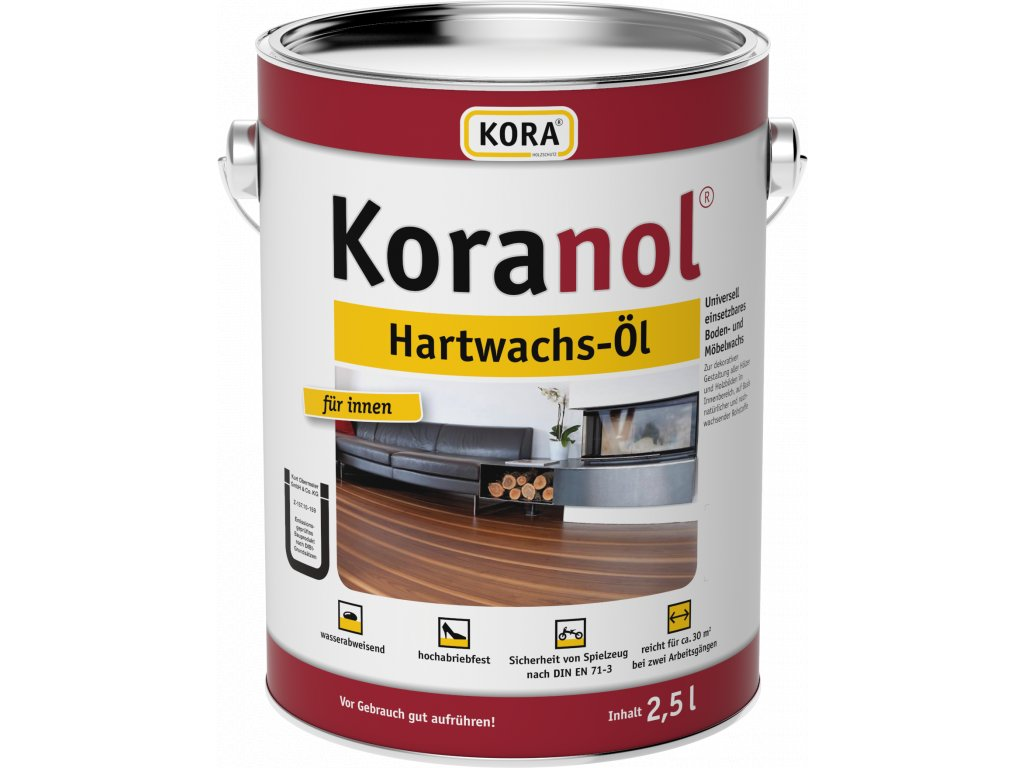 Koranol Hartwachsoel 2 5L V4