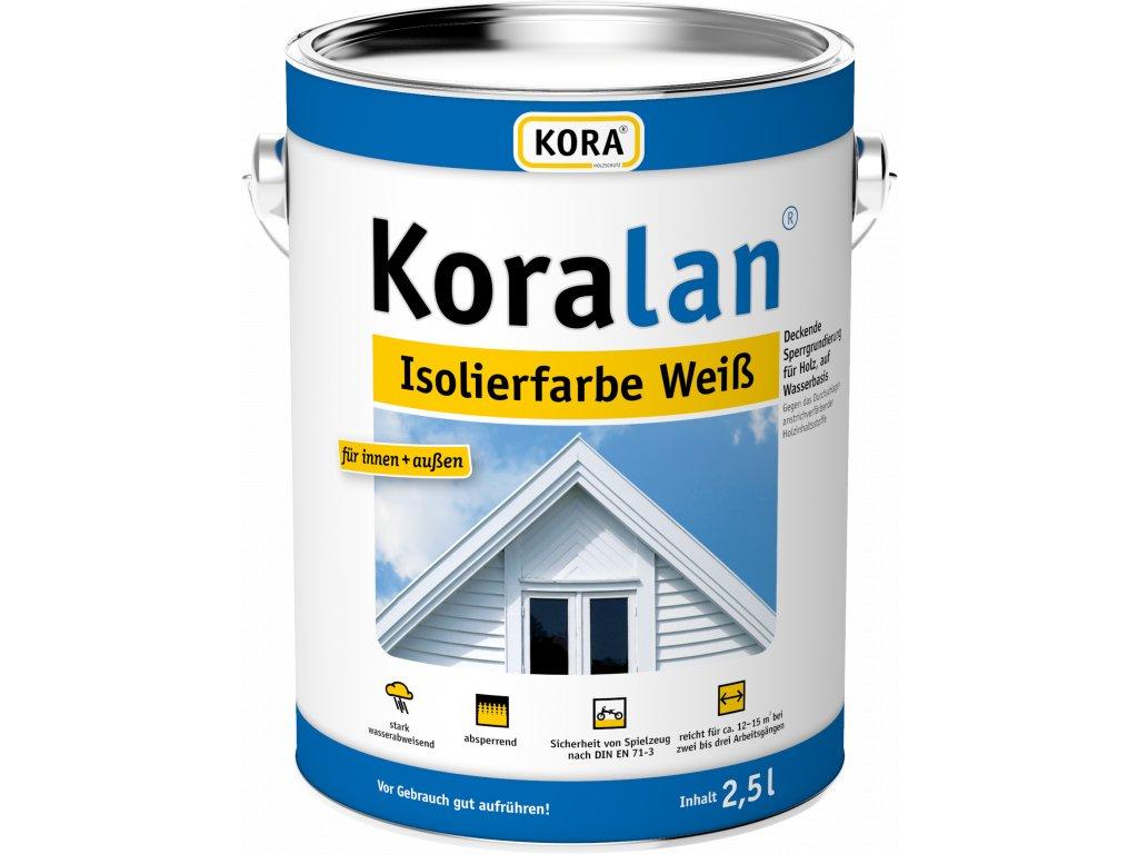 Koralan Isolierfarbe weiss 2 5L V4