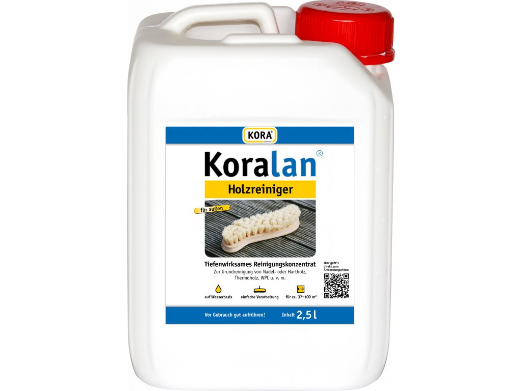 Koralan 2 5L Holzreiniger Kan