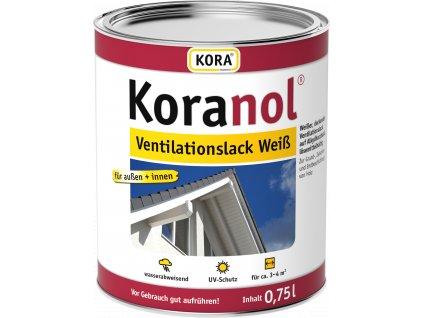 Koranol VentilationslackWeiss 075L