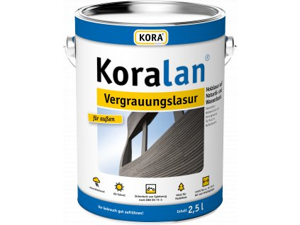 Koralan Vergrauungslasur 2 5L V5