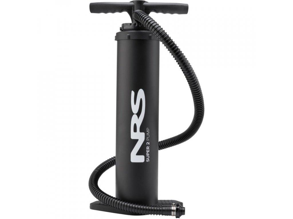 Ruční vzduchová pumpa jednočinná dvoukomorová NRS Super 2 pump