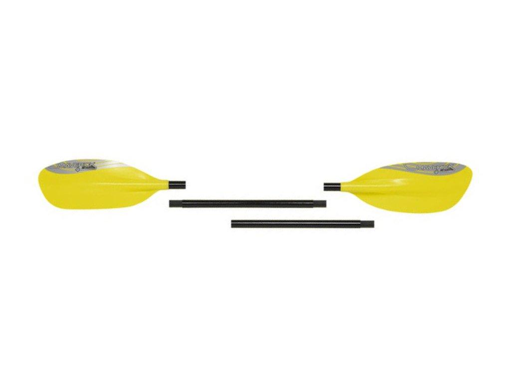 Pádlo Palm MaverickG1 čtyřdílné Yellow 4x3