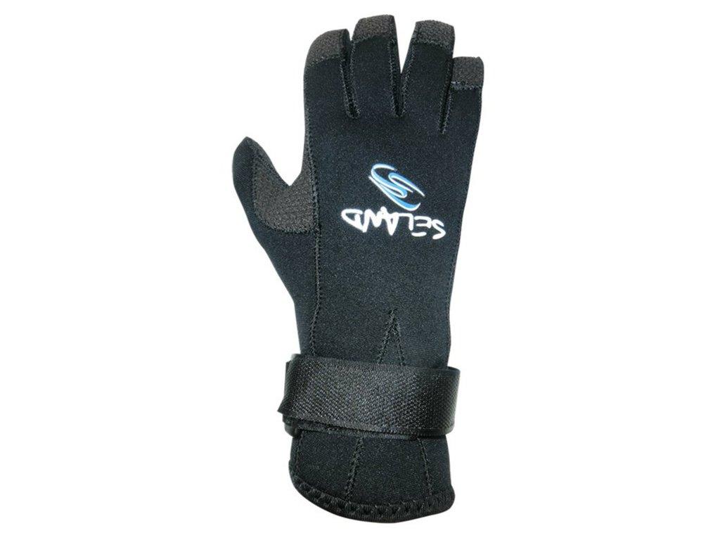 Neoprenové rukavice Seland Agukev t 4x3