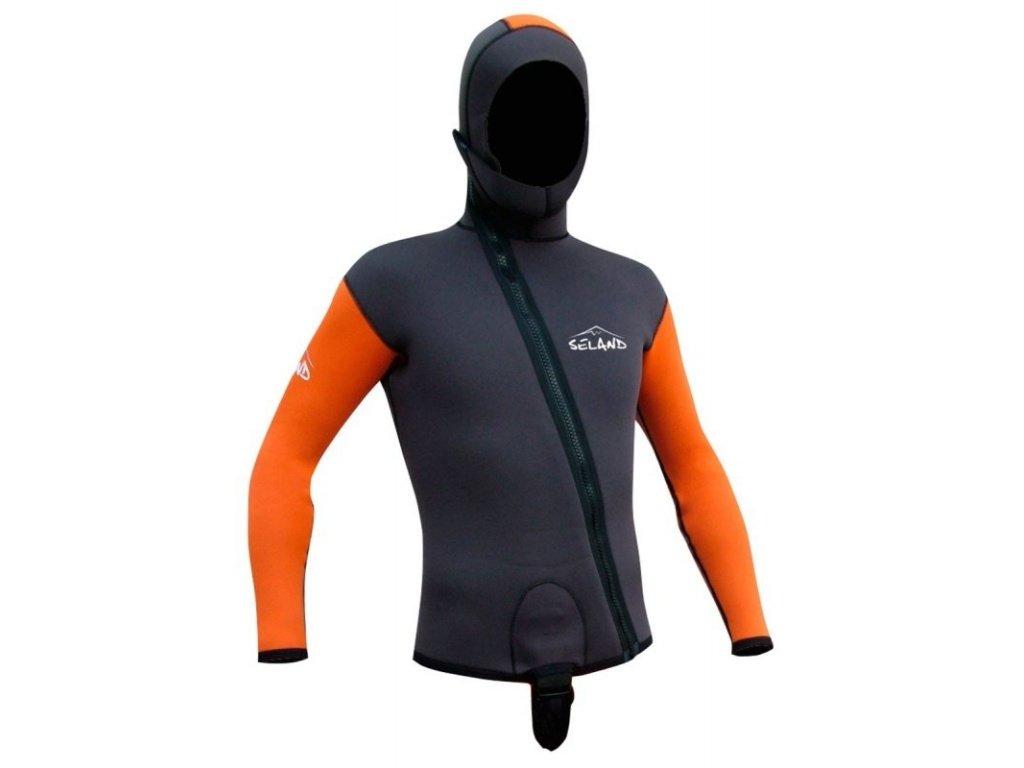 Neoprenová bunda Seland Escalo jacket f 4x3