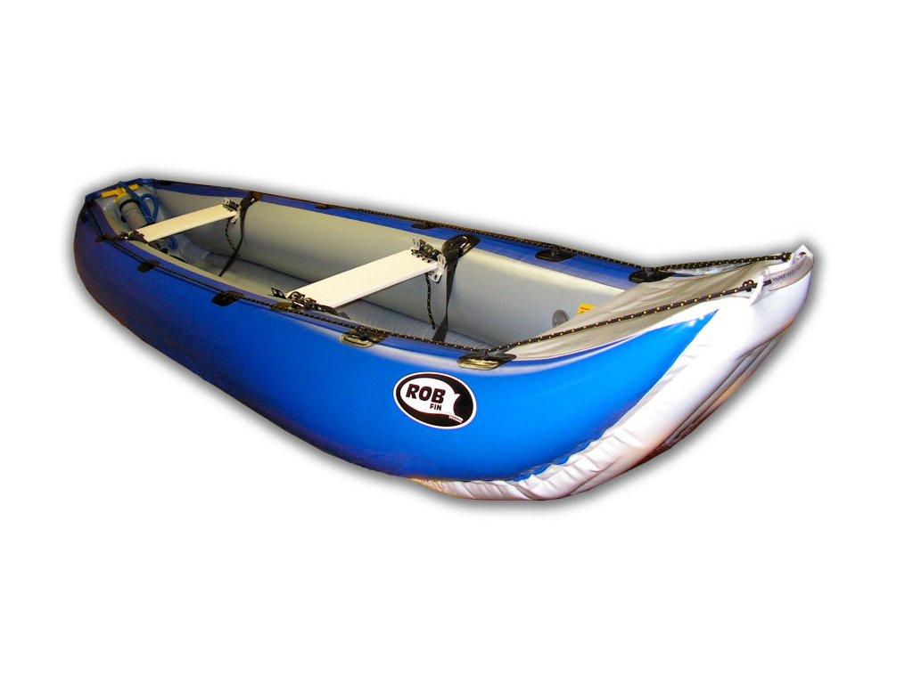 Canoe Yukon modry vyrez