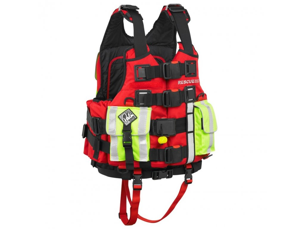 10392 Rescue850 PFD Red front 3