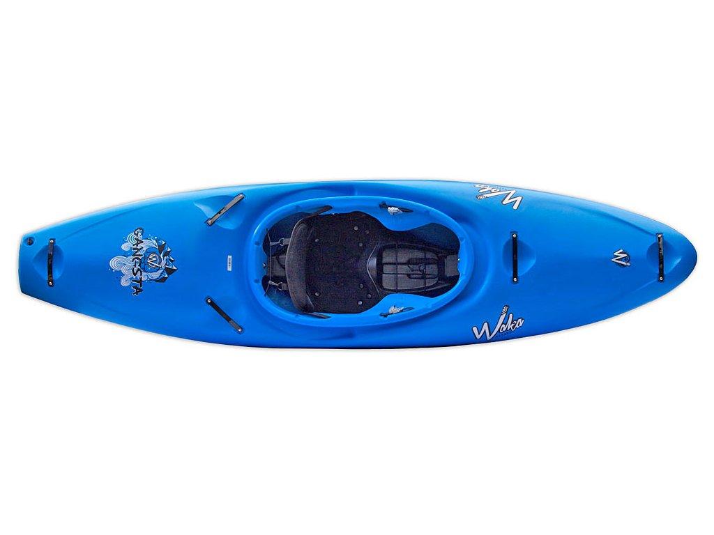 Waka kayaks Gangsta modrá