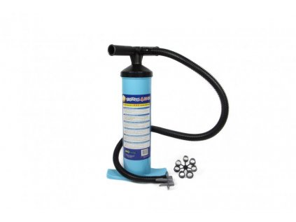 Ruční vzduchová pumpa dvojčinná/jednočinná Bravo 4 l ALU R.E.D - odolná
