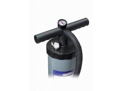 Ruční vzduchová pumpa dvojčinná/jednočinná Bravo 6 l + manometr (2x3 l)