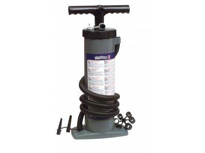 Ruční vzduchová pumpa dvojčinná/jednočinná Bravo 6 l (2x3 l)