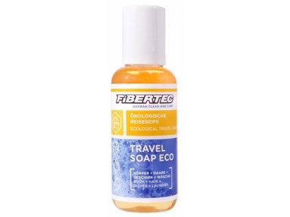 Cestovní mýdlo/čistící a prací prostředek Fibertec Travel Soap Eco 100ml