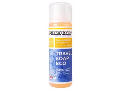 Cestovní mýdlo/čistící a prací prostředek Fibertec Travel Soap Eco 250 ml