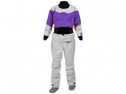 Suchý oblek Kokatat gore tex pro idol dámský purple f 4x3