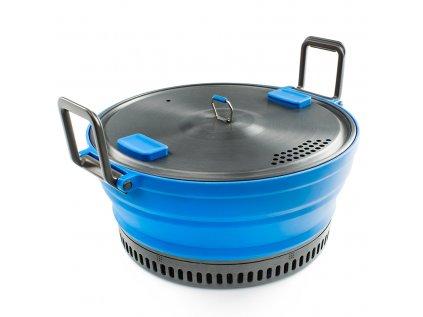 Skládací hrnec GSI Outdoors Escape HS Pot blue 2L