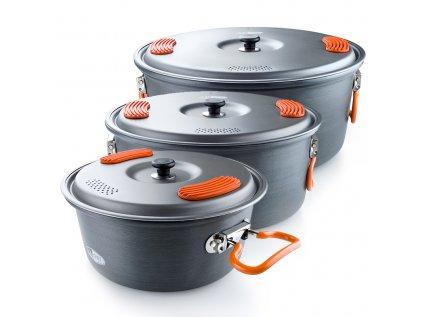 Rodinný kotlík GSI Outdoors Halulite Pot - varianty